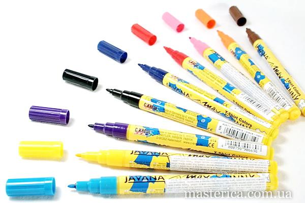 Купить маркеры для рисования по ткани коробка для хранения мелочей с ячейками