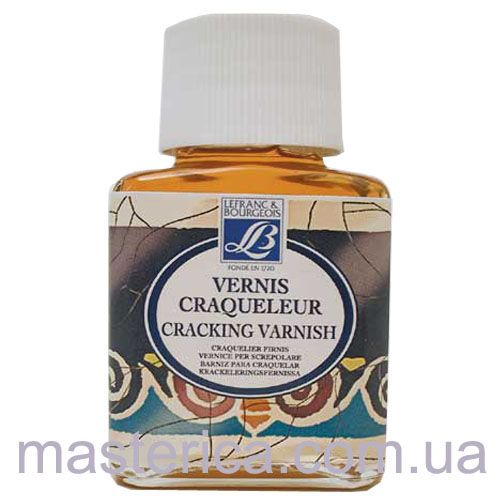 кракелюрный лак cracking varnish lefranc-bourgeois (2-й комп.), 75 ml