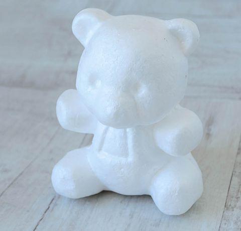 Медведь из пенопласта своими руками 66